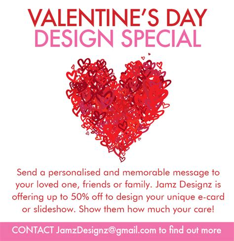 valentines day commercial valentines day ad designz by jamz