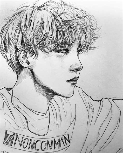 Jhope Drawing Easy 방탄소년단 제이홉 제이홉 정 호석 jhope jung hoseok