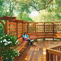 trellis designs for decks 12 diy trellis designs for privacy