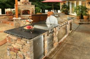 Outdoor Kitchen Island by Custom Amp Semi Custom Outdoor Kitchens Galaxy Outdoor