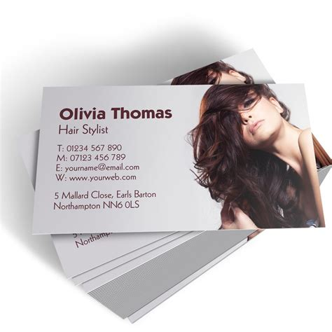 hairdresser business card templates free hairdresser templated business card 2 able labels