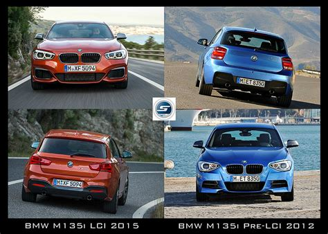 Bmw 1er F20 Vs F21 by Bmw M135i F20 F21 Vergleich Pre Lci Vs Lci 2015