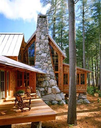 modern log cabin in maine log cabin living