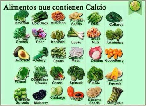 alimentos que contengan calcio que no sean lacteos el calcio en los huesos