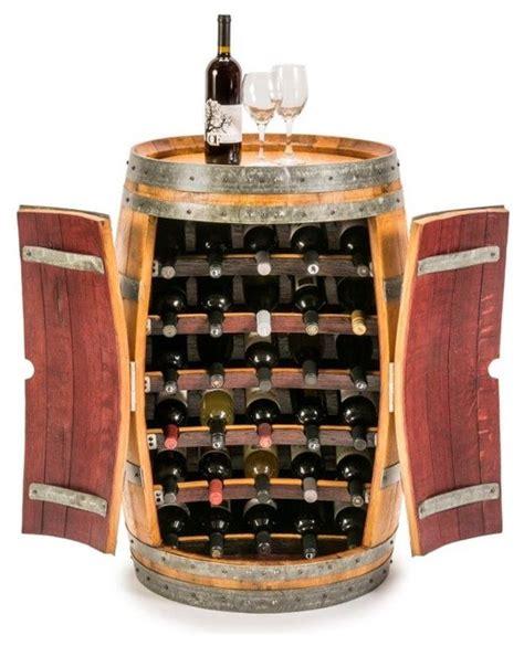 Wine Rack With Shelves by Wine Barrel Wine Rack Industrial Wine Racks By Fallen Oak