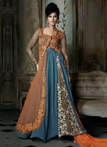 Modern Anarkali Dress » Home Design 2017