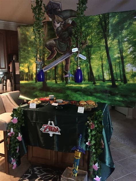 zelda themed birthday party the legend of zelda theme a collection of holidays and