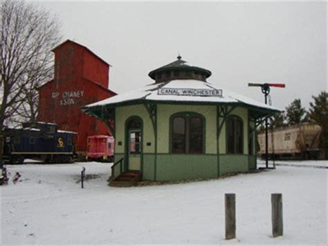 columbus hocking valley and toledo railway depot canal