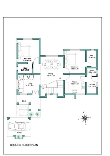 amazing 1000 sq ft double floor house plans in kerala with