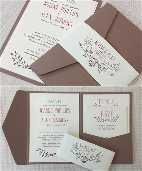 Wedding Invitations Handmade by 14 Out Of The Box Handmade Wedding Invitations