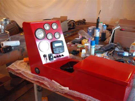 airboat gauge panel new gauge panel and console southern airboat picture