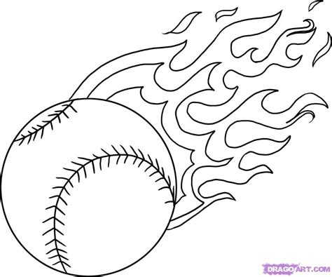 Softball Coloring Pictures Az Coloring Pages Free Coloring Sheets For Kids L