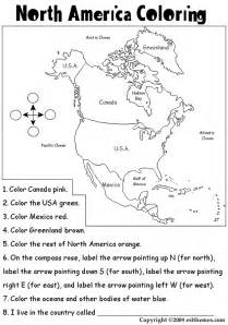 geography coloring book america coloring page homeschool geography