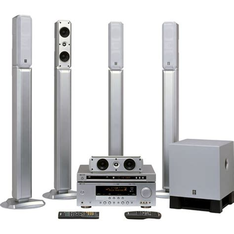 yamaha yht 685sl 5 1 channel home theater system yht 685sl b h