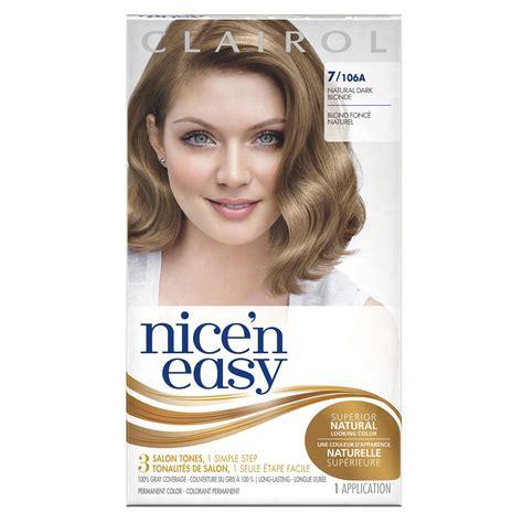 natural dark blonde hair color amazon com clairol nice n easy hair color 115 6n