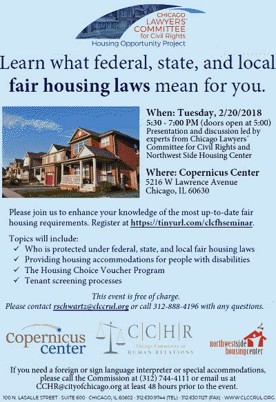 fair housing laws fair housing seminar free 2 20 2018 copernicus