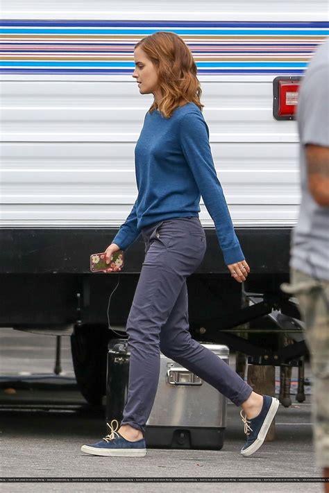 emma watson circle emma watson on the set of the circle in los angeles 09 15