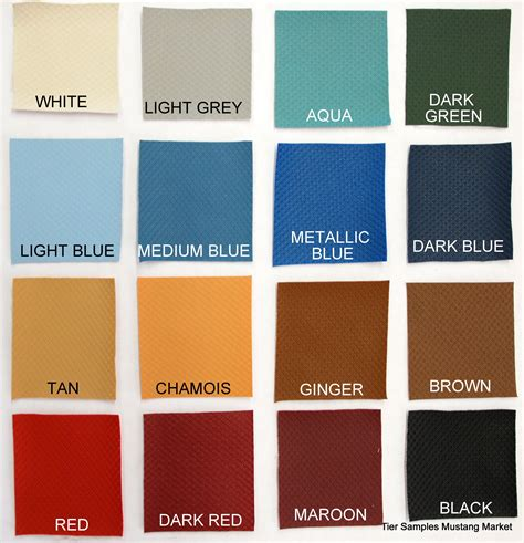 1966 mustang color chart interior car paint schemes interior free engine image