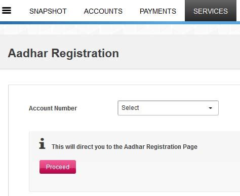 axis bank account no how to link aadhaar number with axis bank account