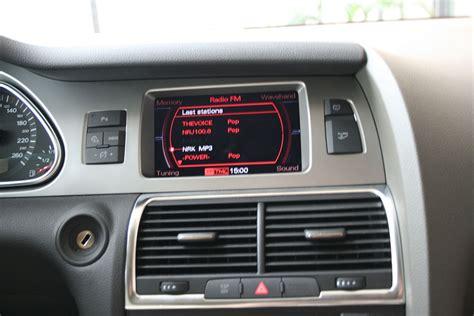 audi multi media interface multi media interface