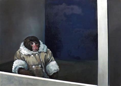 Ikea Monkey Meme - ikea monkey oil on canvas 40x60 ikea monkey know