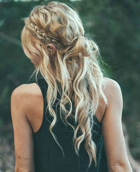 blonde hairstyles easy 27 easy festival hairstyle ideas from pinterest easy