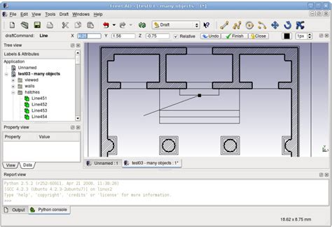 2d Floor Plan Software Free by File Screenshot Draft Jpg Freecad Documentation
