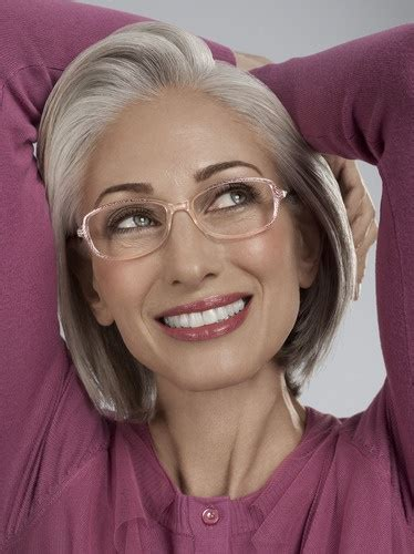 attractive eyeglasses for graying hair 1000 images about beautiful older women on pinterest