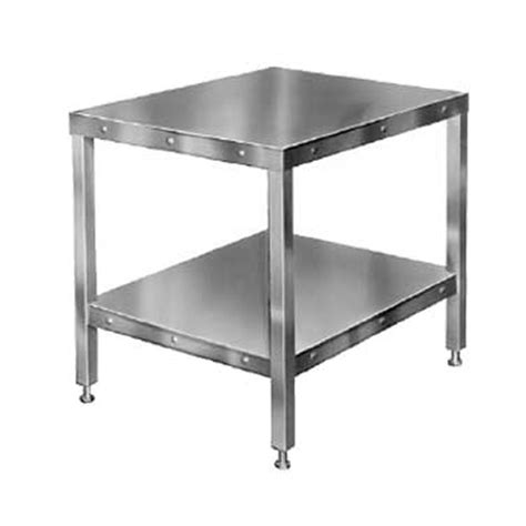 hobart tablehw hl2012 mixer table 27 quot x32 quot with hardware