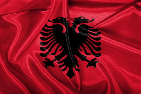 foto design flad flag of albania history design and pictures