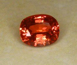 Orangy Pink Padparadscha Spinel 741 all that glitters gemstone photographs sapphire