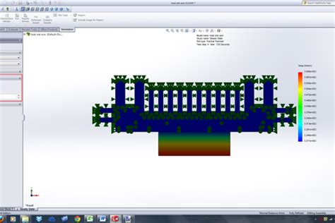 tutorial solidworks thermal analysis tutorial how to perform a transient thermal analysis in