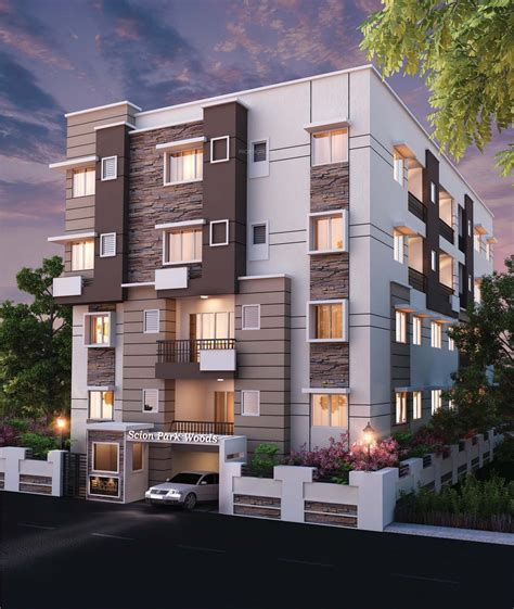 1025 sq ft 2 bhk 2t apartment for sale in scion builders