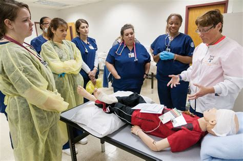 Nursing School For Adults by Mwcc Nursing Students Receive On Through