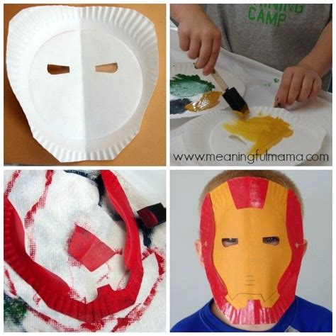 How To Make Iron Mask Out Of Paper - 17 best ideas about paper plate masks on paper