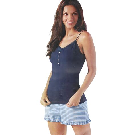 Set Gx Dress Jacket 2in1 womens camisole sleeveless nightwear nightie