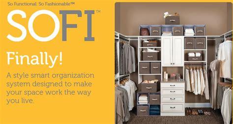 Sofis Closet organize your home with sofi style smart organization