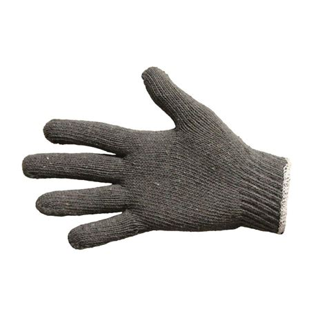 string knit gloves proguard gray large string knit gloves reversible 12 pair