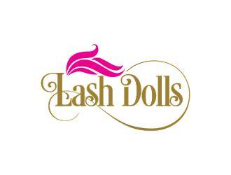 doll logo design lash dolls inc logo design 48hourslogo com