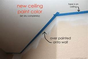 home improvement painting a line on textured