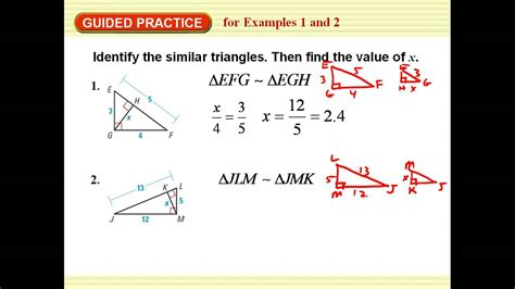 similar right triangles worksheet math aids worksheets similar right triangles answers math