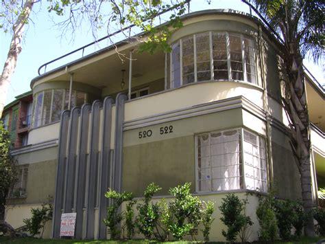 Deco Apartment Buildings Los Angeles Los Angeles Deco Streamline Moderne Buildings