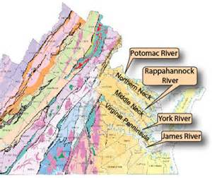 Map Of Virginia Rivers by Major Cities In Virginia For Pinterest