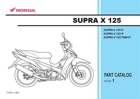 Lu Untuk Supra X 125 part catalog honda supra x 125 by ahass tunasjaya issuu