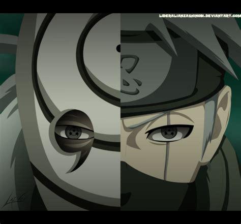 Kaos Anime Vs Obito Shippuden shippuuden images kakashi v s obito wallpaper photos 35529761