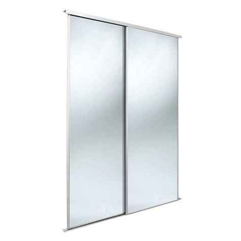 Sliding Wardrobe Kit by Classic Mirrored Mirror Sliding Wardrobe Door Kit H 2220