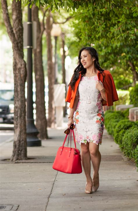 blog swing cute little dallas fashion blog orange swing blazer