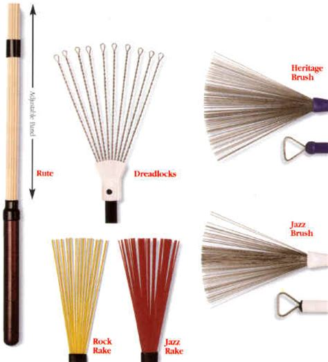 Drum Stick Brush drum stick guide