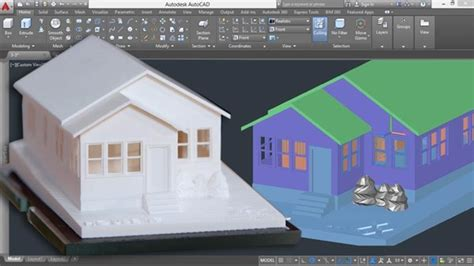 autocad 3d house modeling tutorial 6 3d home 3d building 3d floor plan 3d room youtube 3d printing a scale model with autocad lynda com