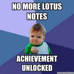 No More Memes - no more lotus notes